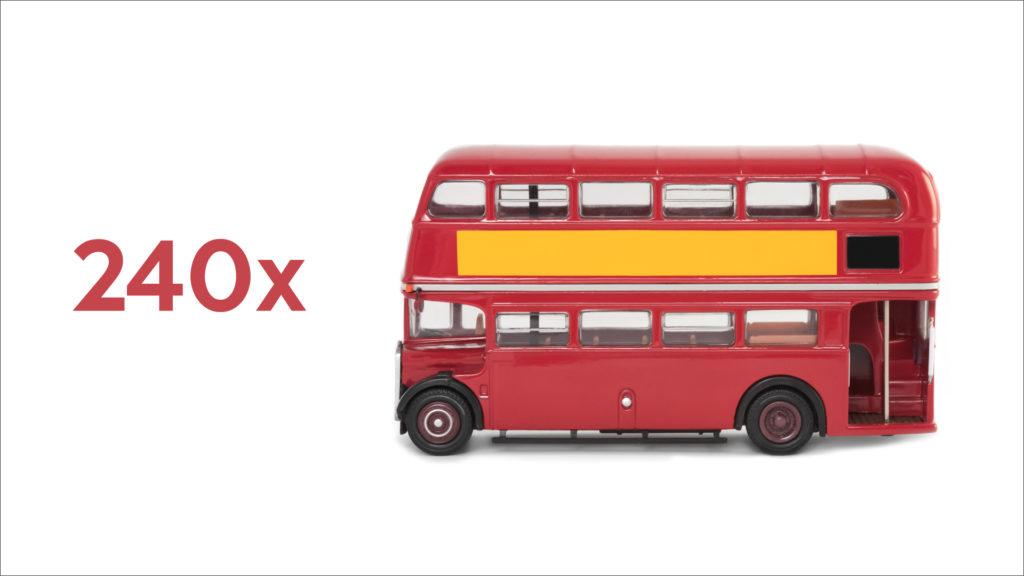 double-decker bus echo asia