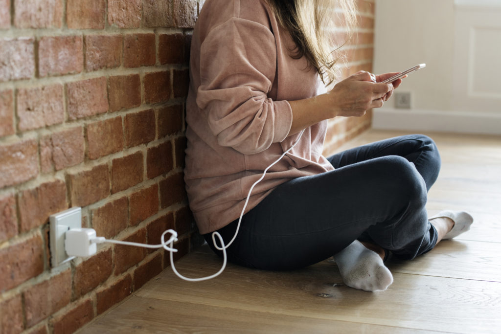 Phone Charging Smartphone Use