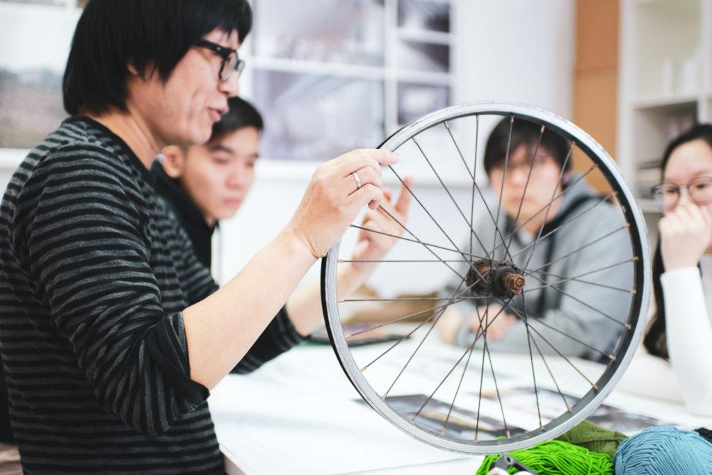 o studio architects, wheels, Au Fai