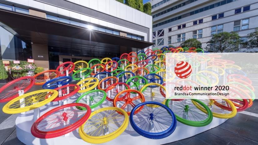 今年Red Dot Design Award 紅點設計大獎吸引來自50個國家共6,992個單位參賽。2位香港代表於「紅點品牌與傳達設計大獎——空間傳達」成功突圍而出,躋身得獎舞台,ECHO ASIA很榮幸成為其中之一。