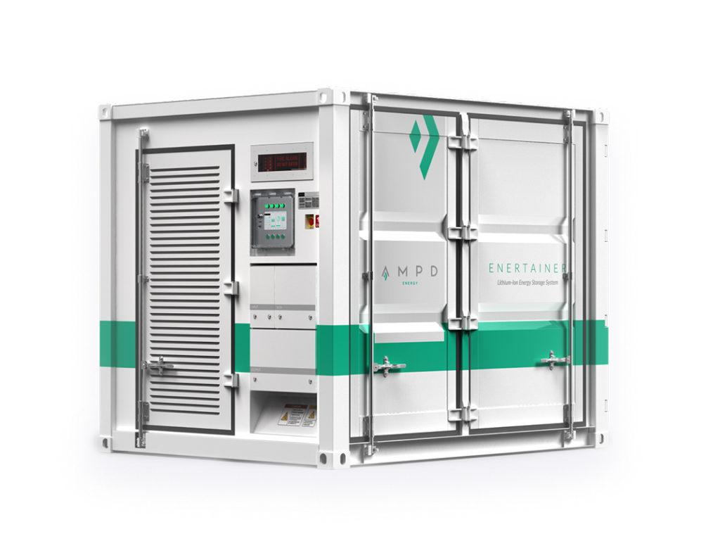 信和集團, Ampd Energy, 淨能櫃