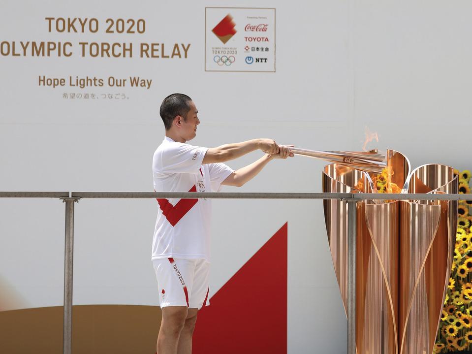olympics聖火