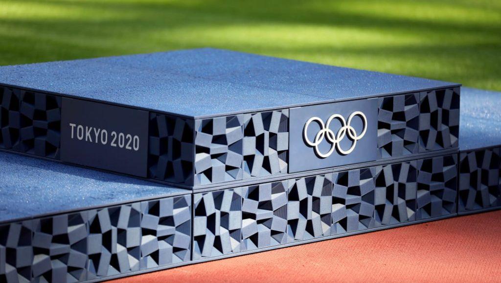 olympics 頒獎台
