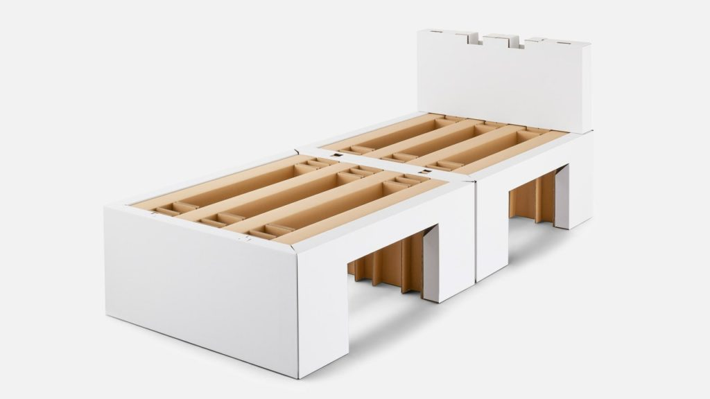 olympics bed